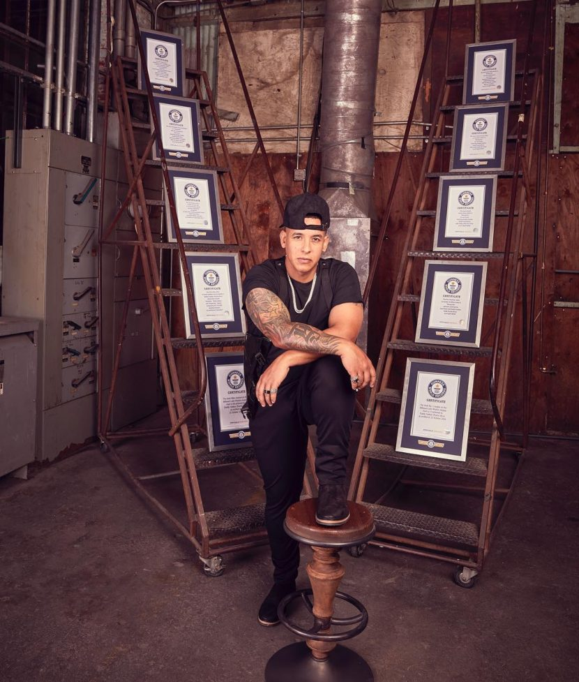 Daddy Yankee celebra 10 títulos de Guinness World Records